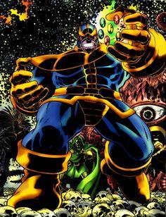 thanos marvel by namorsubmariner Thanos Marvel, Marvel Comics, Hq Marvel, Marvel Villains, Marvel Heroes, Anime Comics, Marvel Comic Character, Comic Book Characters, Marvel Characters