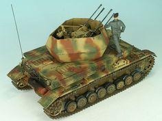 Flakpanzer IV whirlwind Matthias Andrezejewsky (1:35 Tamiya)