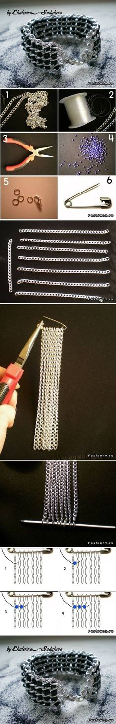 DIY Nice Wide Bracelet DIY Nice Wide Bracelet by diyforever