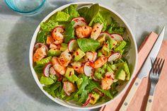 Chopped Cobb Salad, High Protein Salads, Pescatarian Diet, Pescatarian Recipes, Shrimp Avocado Salad, Easy Summer Salads, Easy Homemade Pizza, Fennel Salad, Healthy Salad Recipes