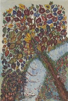 1928, Tree of Paradise, Séraphine Louis (French, 1864–1942), Naive style, MoMA NYC   Date:c.