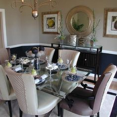 +navy +dining +room Design, Pictures, Remodel, Decor and Ideas - page 2