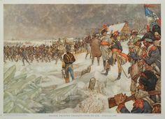 Pichegru na Zaltbommel de Waal over ook verder bij de Lek, want het ijs zorgde voor de oplossing