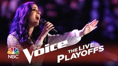 """The Voice 2014 Live Playoffs - Sugar Joans: """"I Say a Little Prayer"""" ~ She sang that!!!"""