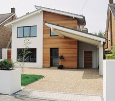 wood Frame Facade Timber Cladding is part of House cladding - Welcome to Office Furniture, in this moment I'm going to teach you about wood Frame Facade Timber Cladding House Cladding, Timber Cladding, Exterior Cladding, Exterior Paint, External Wall Cladding, Cladding Ideas, Home Exterior Makeover, Exterior Remodel, Reforma Exterior