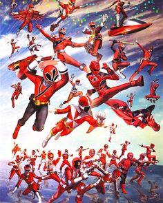 Power Rangers Fan Art, Power Rengers, Power Ranger Birthday, Fantasy Characters, Fictional Characters, Fantasy Character Design, 90s Kids, Kamen Rider, Cool Artwork