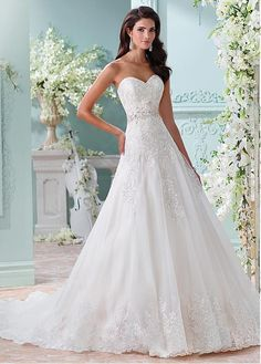 Image result for a-line wedding dresses