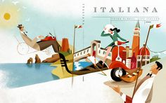 Magazine Italiana on Behance