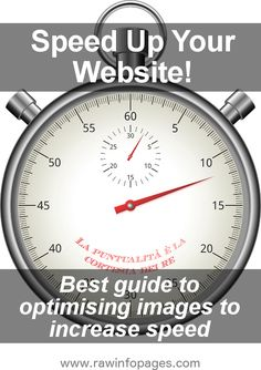 Increase visitor numbers and boost SEO by making your website as fast as possible. Here's how to optimise images.