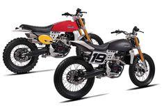 Down & Out Motorcycles Custom Motorcycles, Custom Bikes, Cars And Motorcycles, E Quad, Enduro Vintage, Honda, Sr500, First Down, Scrambler Motorcycle