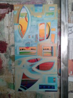 Endless Summer 2016 Words On Wood, Wood Steel, Plexus Products, Collage Art, Contemporary Art, Ceramics, Fine Art, Abstract, Summer 2016