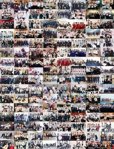 Bangtan Sonyeondan Evolution and Success and Everything Collage. I'm so proud of them