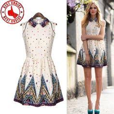Französisch chic Stil Kleid