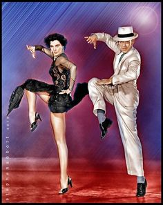 Portrait of Cyd Charisse, Fred Astaire by Henstepbatbot on Stars Portraits, the biggest online gallery for celebrity portraits. Cyd Charisse, Fred Astaire, Celebrity Portraits, Online Gallery, Digital Art, Stars, Celebrities, Movies, Movie Posters