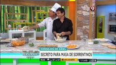 Receta de hoy: Sorrentinos de calabaza, pollo y mozzarella