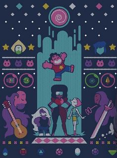 The greatest cartoon of the world Steven Universe Steven Universe Wallpaper, Cartoon Network, Steven Univese, Universe Art, Animation, Cross Stitching, Pixel Art, Just In Case, Cross Stitch Patterns