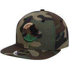 Men s Pittsburgh Steelers New Era Tonal Woodland Camo Capped 9FIFTY Adjustable  Hat b66987a426cf