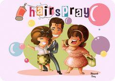 Hairspray  #hollywood #film #hollywoodfilm #musical #musicals #music #films #creativeart #creativeartist #characterdesign #cover #illustration #illustrationart #illustrationartist #illustrationsketch #sketchbook #artbook #artworks #oscar #characterart #characterartist #childrenbook #fantasyart #book #hairspray