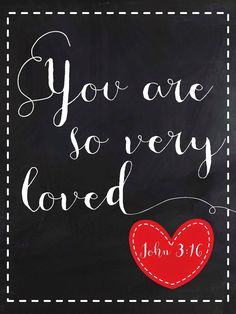 Sweet Blessings: Valentine's Sweetie Printables Day 2: You are so very loved!