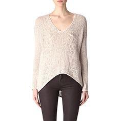 HELMUT LANG Knitted jumper (Warm beige