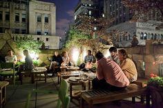 Open-Air Bars Rooftop Bars Serving Summer Cocktails in Manhattan., New York City New York Rooftop Bar, Rooftop Bars Nyc, Rooftop Lounge, Rooftop Terrace, New York Summer, Luxury Bar, York Restaurants, New York Travel, Summer Cocktails