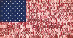 American Type Flag by Hunter Langston, via Behance