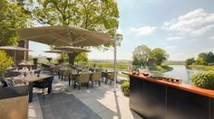 Restaurant Noble in Den Bosch met prachtig uitzicht