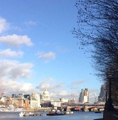 It's a lovely winter day in London. Get out the office and go for a lunch time walk - it's Friday after all! #Thrive #MEC #London #DJLT