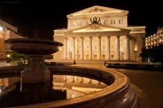 Ballet at the Bolshoi (Russia). 'After six years and 730 million dollars, the world-famous Bolshoi Theatre finally reopened its doors in 2011. Ever since its opening in 1824, the theatre has offered a magical setting for a spectacle. Nowadays the historic theatre is home to the Bolshoi Ballet – one of the leading ballet companies in the country (and the world).' http://www.lonelyplanet.com/russia/moscow/entertainment-nightlife/dance/bolshoi-theatre