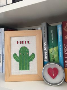 Cross Stitch - Cactus Hug Me : Tessili e tappeti di cool-cross-stitch