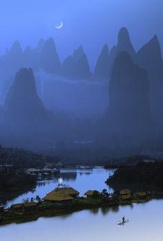Paysage de rêve en Chine.  Wow!