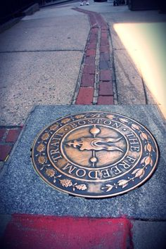 The Freedom Trail, Boston- I SO want to see this sometime. :)
