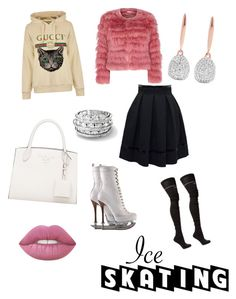 """""""New Diva On Tha Ice"""" by anysharanee on Polyvore featuring Dsquared2, Tamara Mellon, Vetements, Gucci, Alice + Olivia, Monica Vinader and iceskatingoutfit Alice Olivia, Dsquared2, Diva, Gucci, Shoe Bag, Polyvore, Stuff To Buy, Shopping, Collection"""