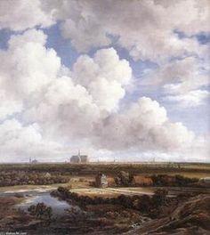 View of Haarlem with Bleaching Grounds - (Jacob Isaakszoon Van Ruisdael (Ruysdael))