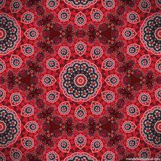 """Renda Cigana"" - fabric of mandalas by Marcelo Dalla, via ManDalla Arte Visual    ...link only goes to ManDalla..."