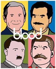 This would make Andy proud.  Blood by Ben Darlington