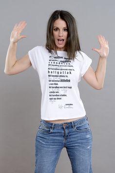 Radnóti Miklós: Két karodban Keto, T Shirt, Tops, Women, Fashion, Verses, Tee, Moda, Women's