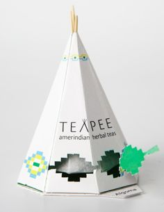 North American Teapee packaging design by Sophie Pépin cca1f26ef55