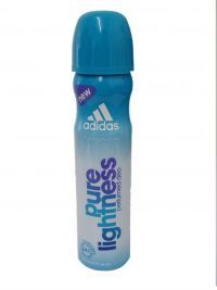 Adidas For Women Deodorant Body Spray  Pure Lightness 75ml With 24 Hour Freshness