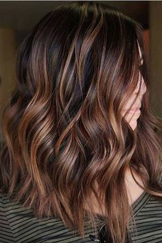 Chocolate Cinnamon Balayage