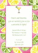 Lemon and Lime Invitations