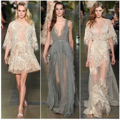 """""""@eliesaabworld's Paris Haute Couture #S/S2015 collection was everything we hoped for! Ethereal, romantic, flirty and whimsical- we are still drooling over…"""""""