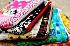 These wallets are so cute, I have to learn how to make them!  Or buy one. :) mlmooresb