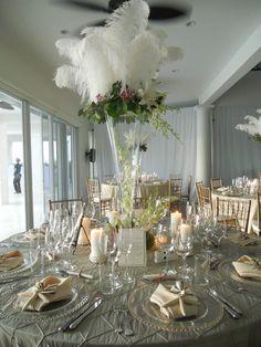 elaborate wedding centrepiece by Celebrations Ltd | Cayman Weddings & Events