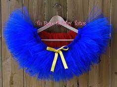 Superman Inspired Tutu/ Costume Tutu/ Elastic waistband by TURunTUPlayTutus on Etsy Tutu Costumes, Halloween Costumes, Running Tutu, Red Tutu, Tutu Party, Colorful Party, Superman, My Etsy Shop, Tulle