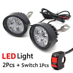 $15.86 (Buy here: https://alitems.com/g/1e8d114494ebda23ff8b16525dc3e8/?i=5&ulp=https%3A%2F%2Fwww.aliexpress.com%2Fitem%2F2-pcs-Universal-LED-Motorcycle-Headlight-Mirror-Mount-Driving-Fog-Spot-Light-Spotlight-Assist-Lamp-Side%2F32687100316.html ) 2pcs Universal LED Motorcycle Headlight Mirror Mount Driving Fog Spot Head Light Spotlight Assist Lamp Side Mirror Light Switch for just $15.86