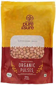 Pure & Sure Organic Ground Nut, Organic Recipes, Pantry, Pure Products, Canning, Amazon, Food, Pantry Room, Butler Pantry, Riding Habit