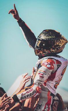 2018 World Champion Marc Marquez, Biker Love, Biker Girl, Motogp Valentino Rossi, Spanish Grand Prix, Motorcycle Racers, Black Widow Marvel, Racing Helmets, Joker Wallpapers