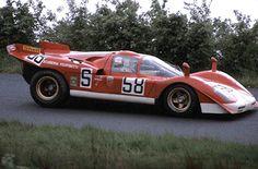 1970 1000km Nürburgring Ferrari 512s Herbert Müller/Mike Parkes