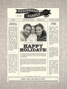 Hello-Lucky-Holiday-Family-Newsletter
